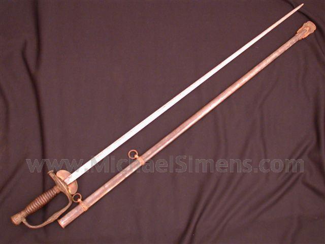CIVIL WAR GENERAL'S SWORD