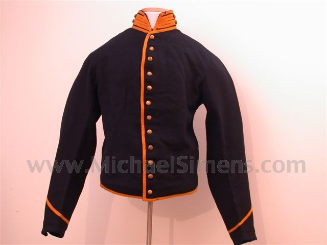 CIVIL WAR CAVALRY SHELL JACKET.