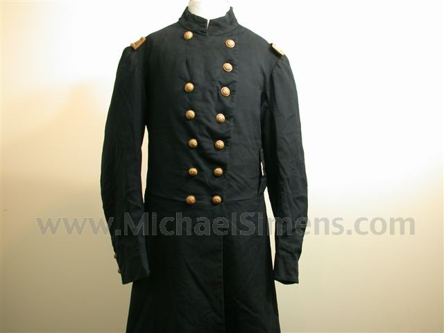 CIVIL WAR UNION FROCK COAT WITH STRAPS