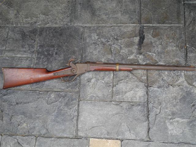 Civil War Carbine, Identified Starr Carbine