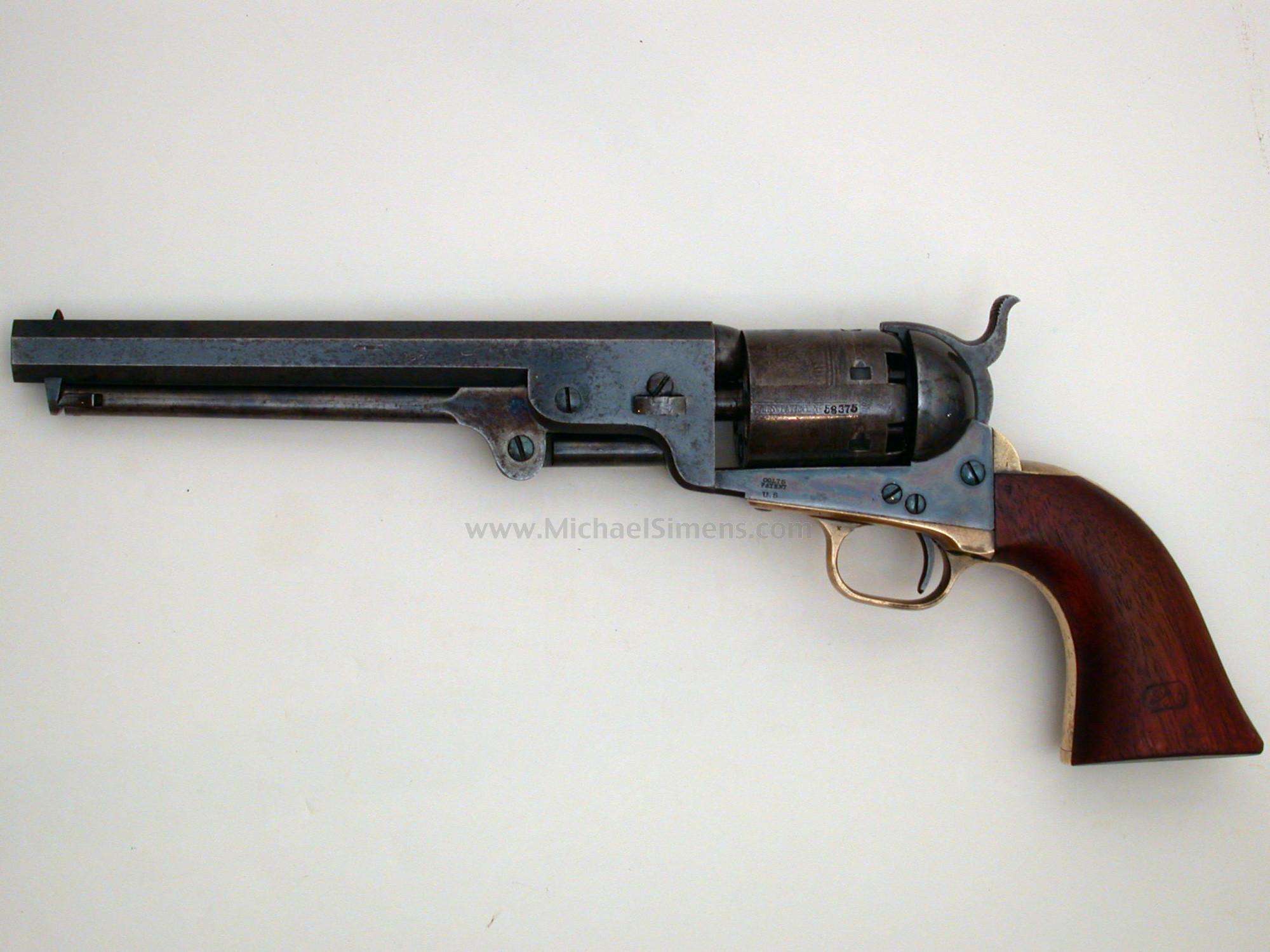 martially marked colt 1851 navy revolver antique colt appraiser