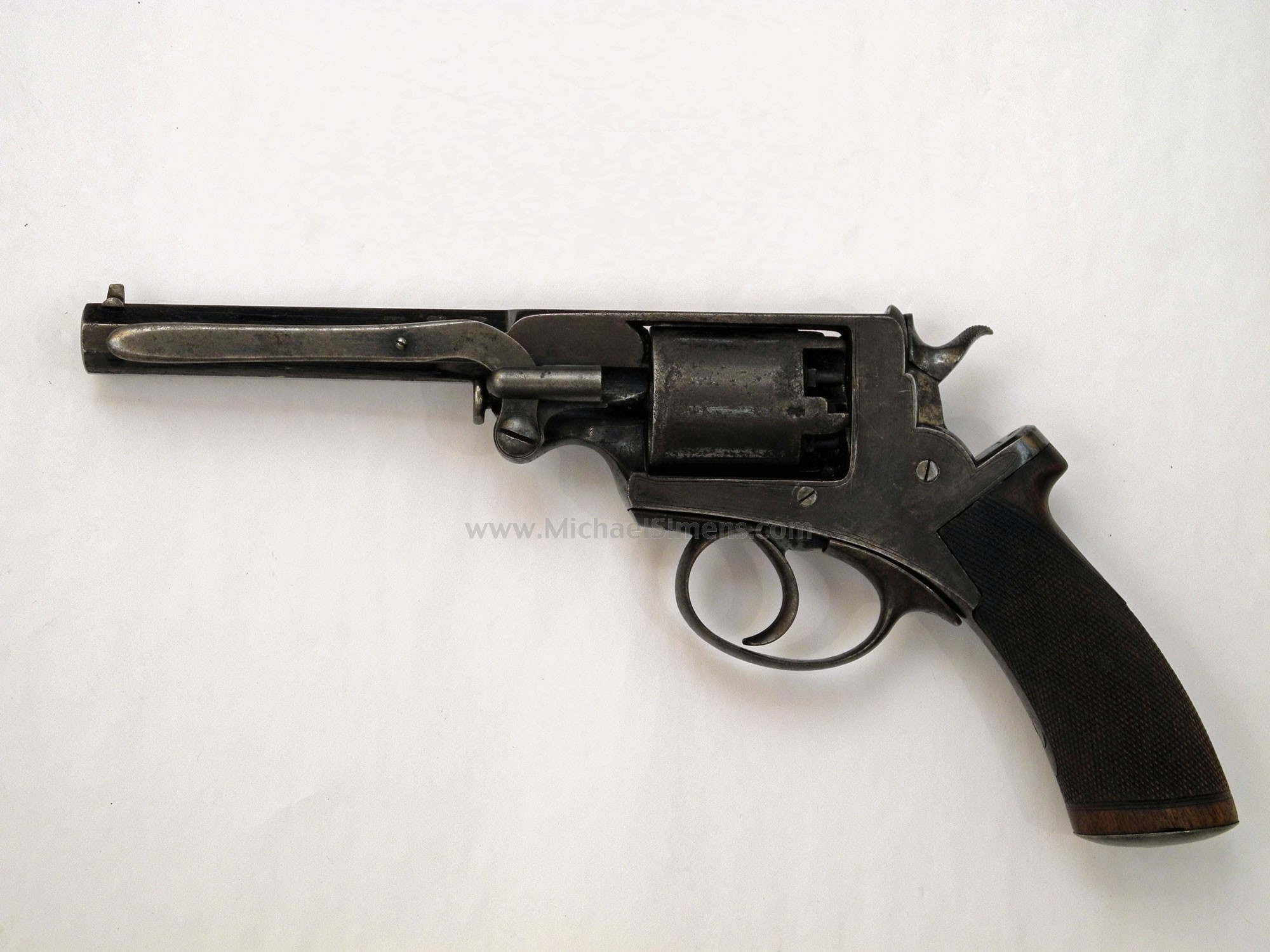 Cased Quot Confederate Quot English Adams Revolver For Sale
