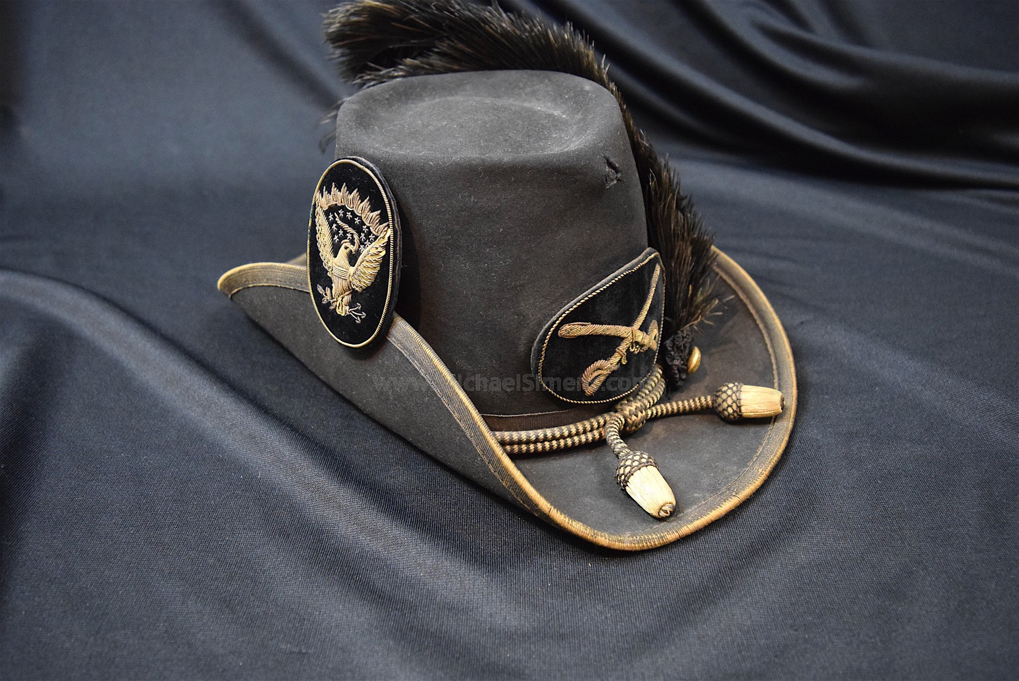 CIVIL WAR OFFICERS SLOUCH HAT