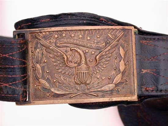 CIVIL WAR OFFICER'S BELT FOR SALE.