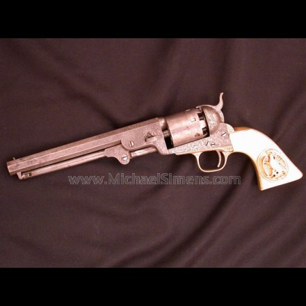 COLT, MODEL 1851 NAVY REVOLVER MICHAEL BULGER