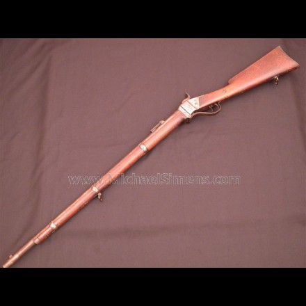 BERDAN SHARPS RIFLE, Civil War Longarm