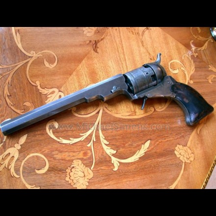 COLT TEXAS PATERSON REVOLVER, HOLSTER MODEL.