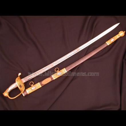 PRESENTATION CIVIL WAR SWORD