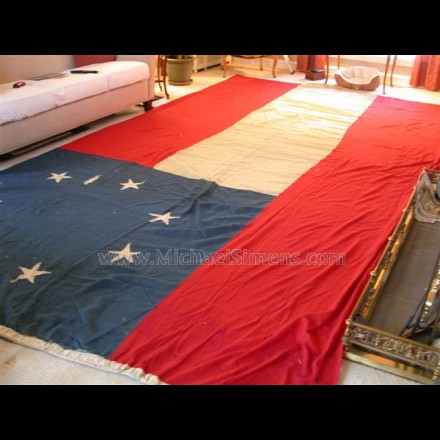 CONFEDERATE FIRST NATIONAL FLAG