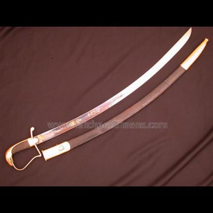 MARINE NCO SWORD BY WIDMANN OF PHILADELPHIA.