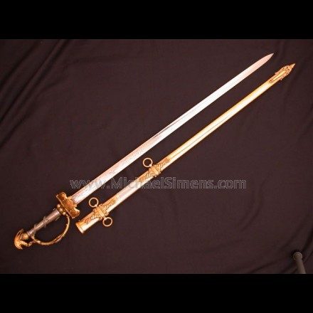 TIFFANY PRESENTATION SWORD, CIVIL WAR PRESENTATION SWORD
