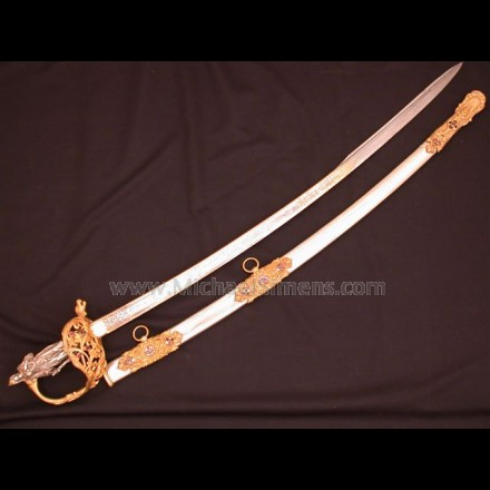 CIVIL WAR PRESENTATION CAVALRY OFFICERS SABER FOR SALE