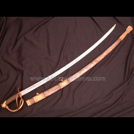 CIVIL WAR CAVALRY OFFICERS SABER, PRESENTATION INSCRIBED
