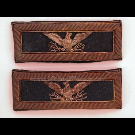 ANTIQUE CIVIL WAR SHOULDER STRAPS, COLONEL STRAPS