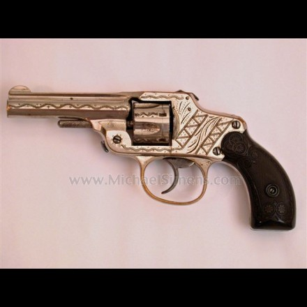 SPENCER SAFETY HAMMERLESS REVOLVER MADE BY MALTBY, HENLEY & COMPANY.