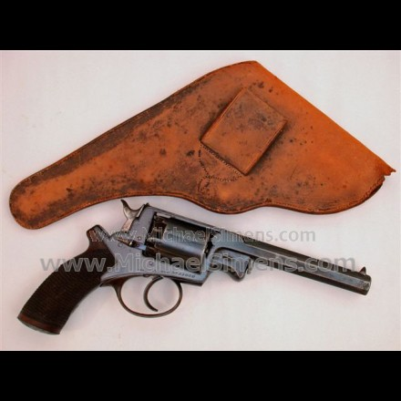 """CONFEDERATE PURCHASE ADAMS REVOLVER AND COMPLETE NAVAL RIG WITH RARE """"CN"""" CONFEDERATE NAVY BUCKLE."""
