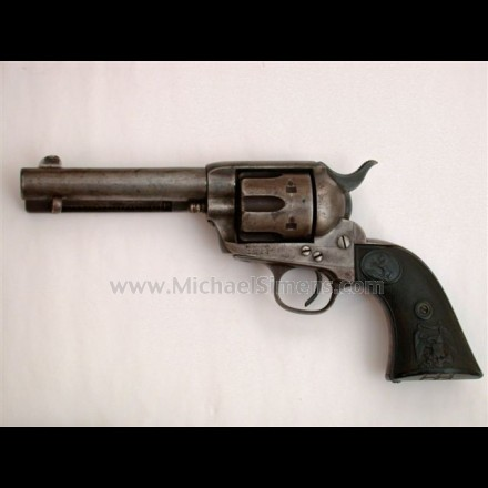 ANTIQUE COLT SINGLE ACTION REVOLVER.