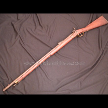 ANTIQUE CIVIL WAR RIFLE BY J. HENRY & SON