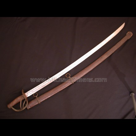 CONFEDERATE DOG RIVER CAVALRY SABER