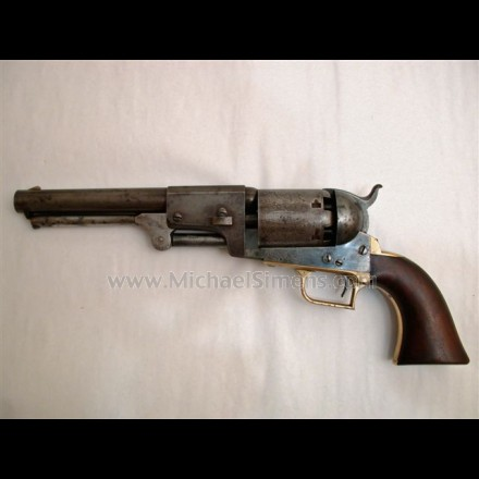 COLT DRAGOON REVOLVER, SECOND MODEL