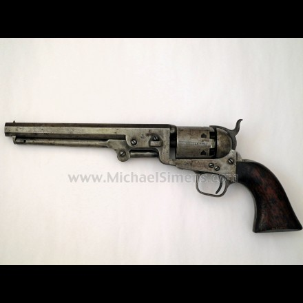 COLT LONDON NAVY WITH WD BROAD ARROW MARKS