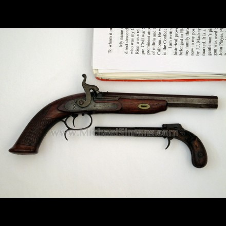SOUTHERN PISTOL BY J. J. MACKEY, IDENTIFIED