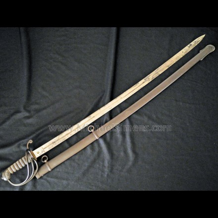 Confederate Cavalry Officer's Saber for Sale by Isaac Campbell & Company