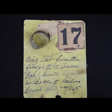 BATTLE OF SAILER'S CREEK ARTIFACT - CIVIL WAR
