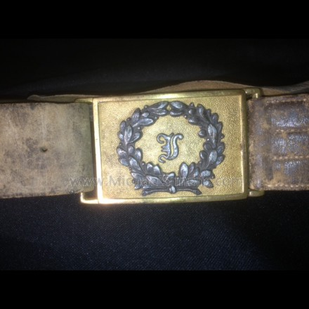 ANTIQUE MILITARY BUCKLE, CIVIL WAR, MEXICAN WAR