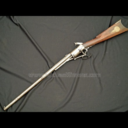 NORTH AND SKINNER REVOLVING RIFLE FOR SALE