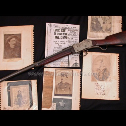 HISTORICAL AND IDENTIFIED WILD WEST PRESENTATION RIFLE