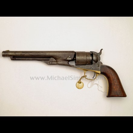 ANTIQUE COLT 1860 ARMY REVOLVER