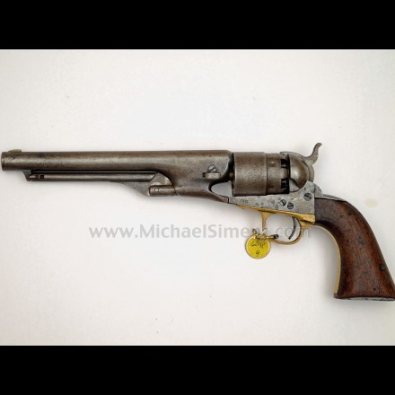 COLT 1860 ARMY REVOLVER - ANTIQUE COLT