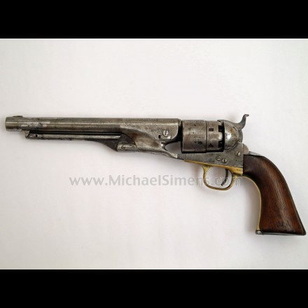 CIVIL WAR COLT ARMY REVOLVER - ANTIQUE COLT REVOLVERS