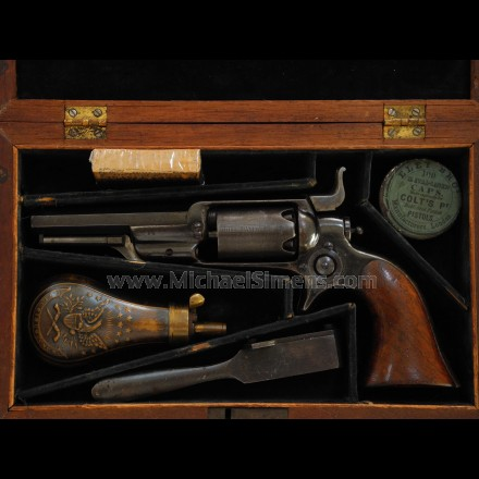 ANTIQUE COLT REVOLVER FOR SALE - CAPITOL POLICE ROOT REVOLVER