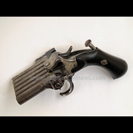 ANTIQUE HARMONICA PISTOL
