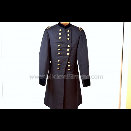 MAJOR GENERAL CIVIL WAR FROCK COAT