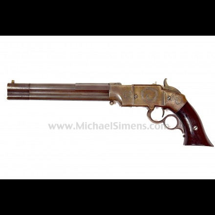 VOLCANIC SMITH & WESSON PISTOL, LARGE FRAME