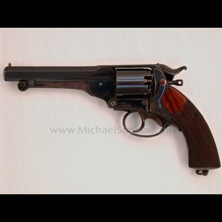 CONFEDERATE KERR REVOLVER IN NEAR MINT CONDITION