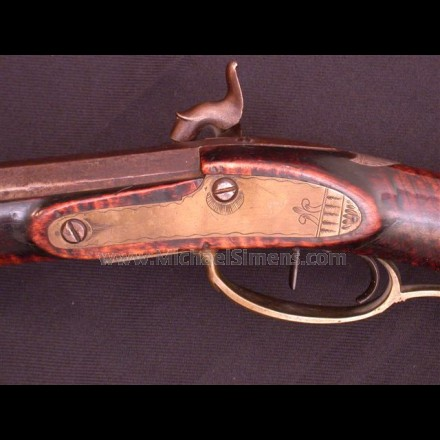 "KENTUCKY RIFLE OF ""THE GOLDEN AGE""."