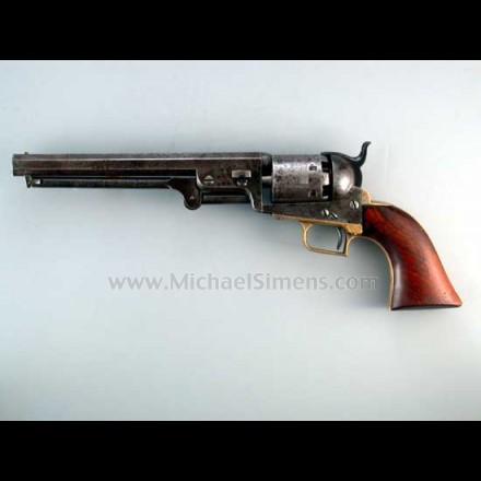 Colt 1851 First Model Squareback Navy.