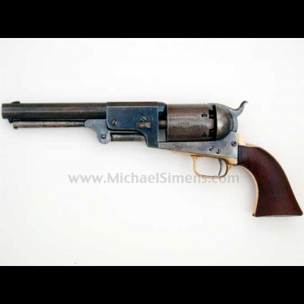 COLT DRAGOON REVOLVER,  MARTIALLY MARKED THIRD MODEL