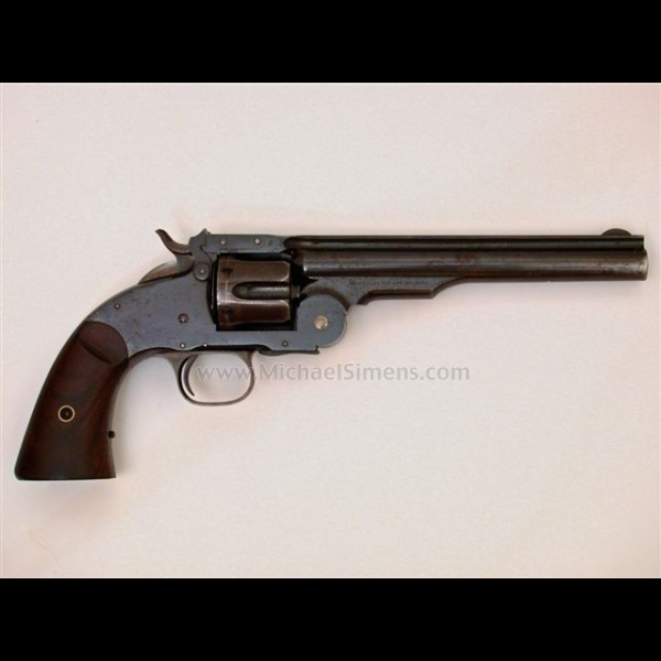 FIRST MODEL SCHOFIELD REVOLVER MADE BY SMITH & WESSON