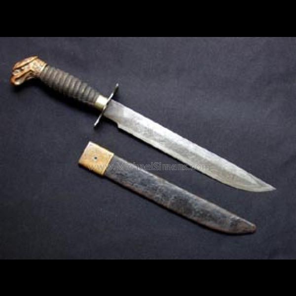 PRESENTATION CIVIL WAR BOWIE KNIFE