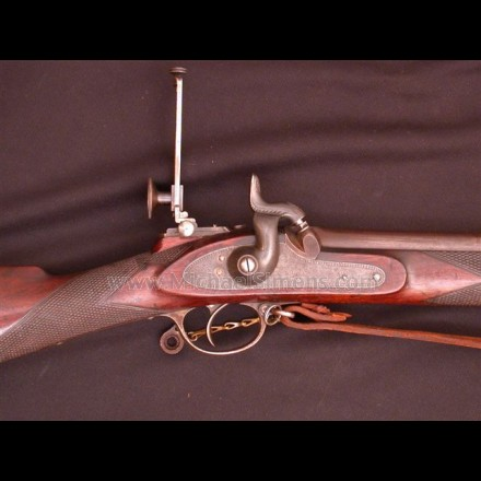 CIVIL WAR KERR SNIPERS RIFLE.