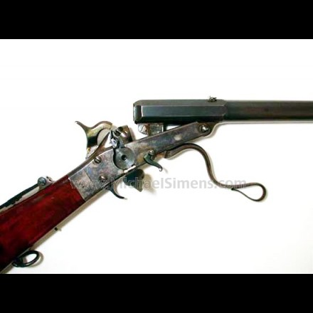 SPECTACULAR .35 cal. FIRST MODEL MAYNARD CARBINE