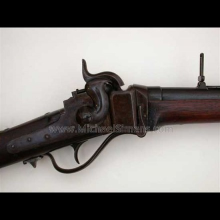 SHARPS CIVIL WAR CARBINE, 1863 SHARPS CARBINE
