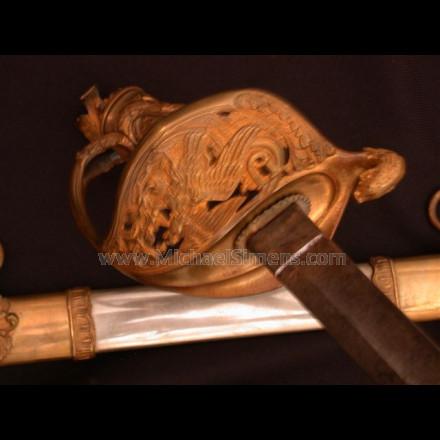 CIVIL WAR PRESENTATION SWORD, BY CLAUBERG