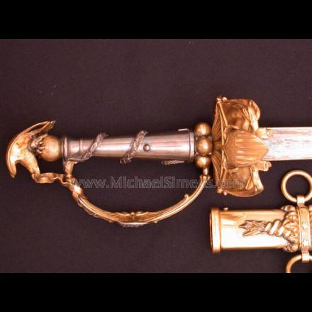 TIFFANY PRESENTATION SWORD, CIVIL WAR PRESENTATION SWORD