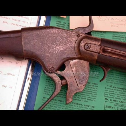 SPENCER CARBINE, DOCUMENTED PROVENANCE, CAVALRY ARTIFACTS